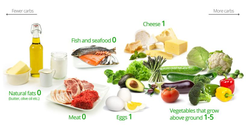 LCHF dietdocr carbs list what to eat